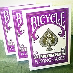 Bicycle Rider Back Purple Color with Black seal
