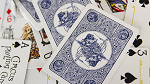 Circus No. 47 (Blue Gilded) Playing Cards