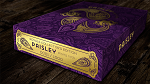 Collector's Paisley Royals Purple (Numbered Seals) Playing Cards by Dutch Card House Company