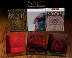 6 Decks Playing Cards on Sale (Devastation, Gentleman)