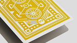 DKNG (Yellow Wheel) Playing Cards by Art of Play