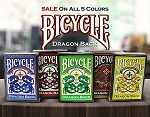 Bicycle Dragon Back 5 Colors Set on Sale