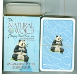 Natural World Endangered Species Playing Card Deck