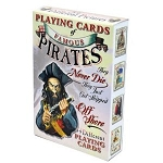 Famous Pirates(faces) Playing Cards-Deck
