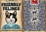 Friendly Felines Playing Cards Poker Size Deck