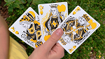 Gilded Bicycle Beekeeper Playing Cards (Dark)