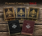 5 Latest Playing Cards Deck Set on Sale (Mint , Inceptus)