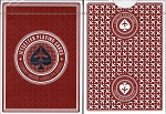 Jetsetter Red Playing Cards