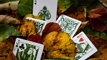 Leaves Collector's (White) Playing Cards by Card House Company