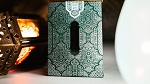 Limited Edition 2019 National Playing Card Deck Zellij Tile (Club ARCH) GREEN/WHITE by Seasons Playing Card