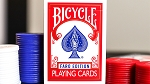 Limited Edition Bicycle Faro (Red) Playing Cards Deck