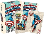 Marvel - Captain America playing cards