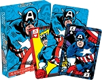 Marvel - Captain America Comics playing cards