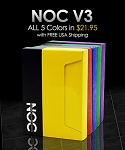 NOC V3 5 Colors Playing Cards Deck (Discount Package)