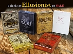 Ellusionist Playing Cards Deck Set on Sale ( Prohibition )