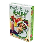 Quick Easy Healthy Recipes Playing Cards