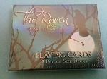 Edgar Allen Poe The Raven Bridge Sized Playing Cards New By Cartamundi