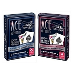 2x NEW Cartamundi Ace 100% Plastic Cards USA Made Durable Washable Casino Poker