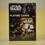 Star wars rogue one playing cards deck