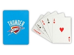 OKLAHOMA CITY THUNDER PLAYING CARDS