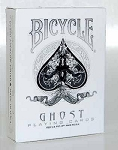 Bicycle Ghost White Playing Cards