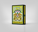 Bicycle Dragon Back Yellow 12 Decks