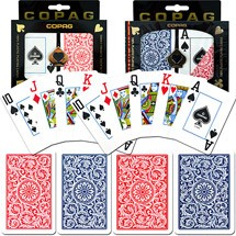 Copag Red & Blue N/J Playing Cards