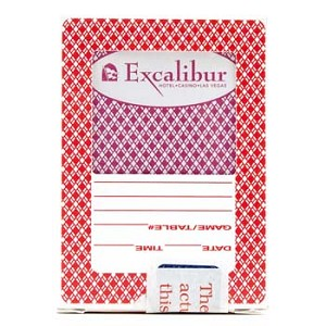 Excalibur Casino Playing Cards