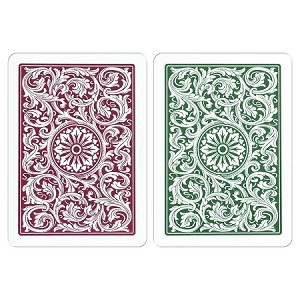 Copag Green & Burgandy W/J Playing Cards FREE SHIPPING
