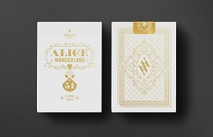 Alice in Wonderland Limited Edition White Deck By Turnstyle Playing Cards