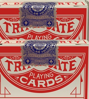 1876 A. Dougherty No.18 Triplicate Playing Cards Deck