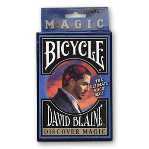 DISCOVER MAGIC PLAYING CARDS BY DAVID BLAINE
