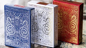 White Gold Edition Playing Cards Deck