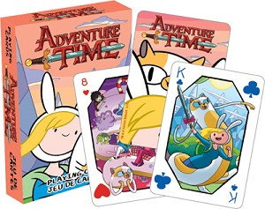 Adventure Time Bender playing cards
