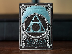 Arcana Expansion Playing Cards Deck Turquoise Color