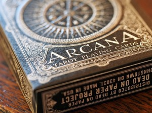 Arcana Dark Tarot Playing Cards Deck New Sealed By Chris Ovdiyenko