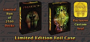 Pharaoh Playing Cards LIMITED EDITION