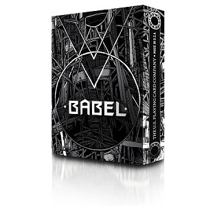 Babel Black and Gray Playing Cards