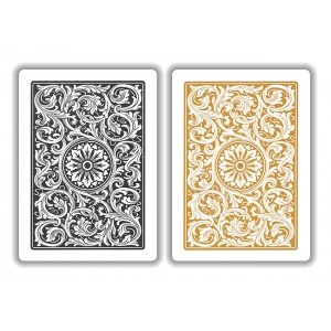 Copag Black & Gold W/J Playing Cards FREE SHIPPING