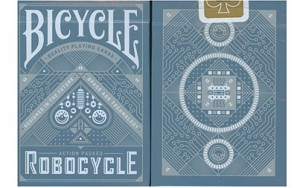 Bicycle Robocycle Playing Cards Blue
