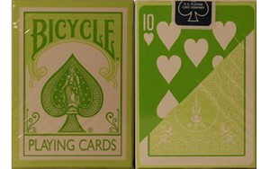 Bicycle Fashion Green Playing Cards