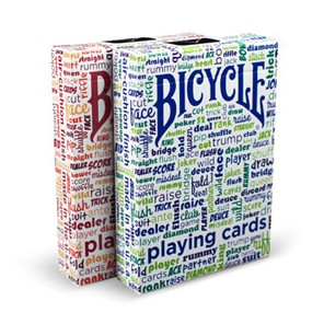 Bicycle Table Talk Playing Cards Green