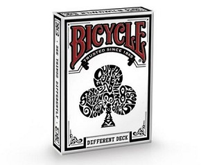 Bicycle Different White Playing Cards Deck Limited Edition New