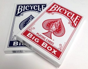 Bicycle Big Box Playing Cards Red Only