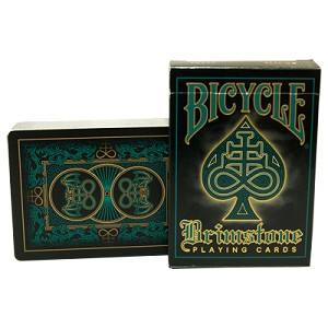 Bicycle Brimstone Aqua Playing Cards Limited Edition