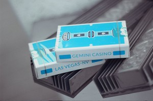 Gemini Casino Playing Cards - Vegas Blue