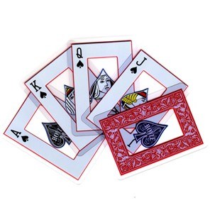 Hoyle Clear Deck by Bicycle Playing Cards