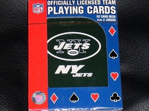 NEW YORK JETS PLAYING CARDS