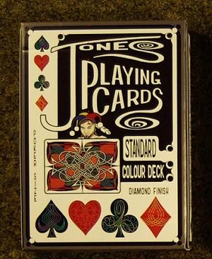 Jones playing cards Red Std Colour Deck