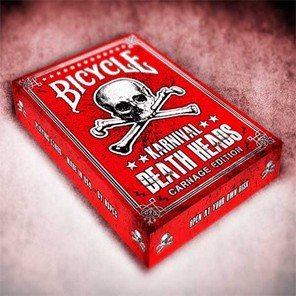 Bicycle Karnival Death Heads Playing Cards